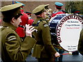 H4572 : Royal Inniskilling Fusiliers Band by Kenneth  Allen