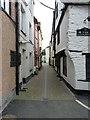 SX2553 : Middle Market Street in Looe by Richard Law
