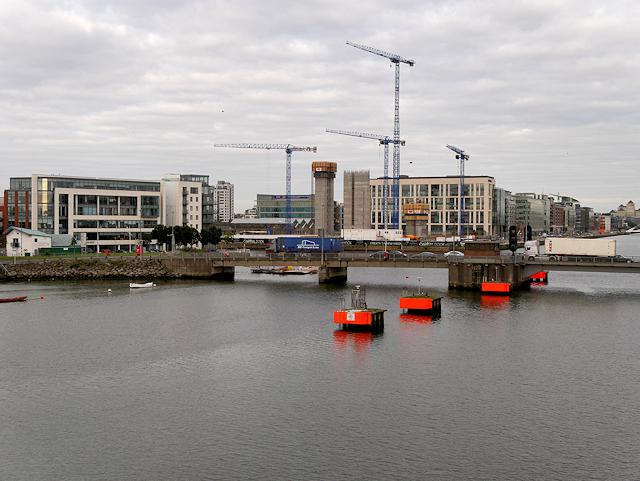 River Liffey, East Link Bridge