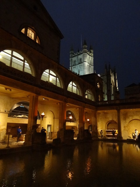 Torchlit Bath