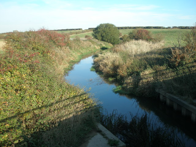 River Cuckmere viewed from Sherman Bridge