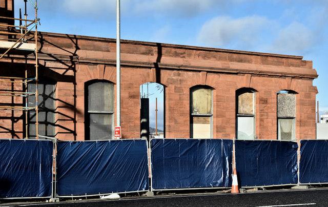 Former Harland & Wolff offices, Belfast - November 2016(2)