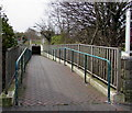 SS8177 : Underpass ramp towards John Street shops, Porthcawl by Jaggery