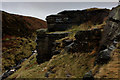 SE0531 : Outcrop above Ogden Clough by Chris Heaton
