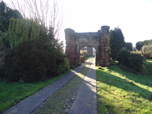 Gateway to Bradlegh Old Hall