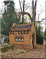 TQ3575 : Laura Stearns Mausoleum, Nunhead Cemetery by Julian Osley