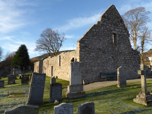 Remains of Tullich Kirk