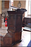 TQ5045 : Church of St Mary - pulpit by N Chadwick