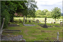 TQ5045 : Chiddingstone Cemetery by N Chadwick