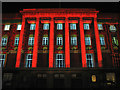 TG2208 : Light projections at City Hall by Evelyn Simak