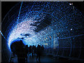 TG2208 : The Tunnel of Light on Hay Hill (blue sequence 3) by Evelyn Simak