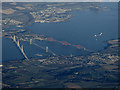 NT1178 : The Forth Bridges from the air by Thomas Nugent