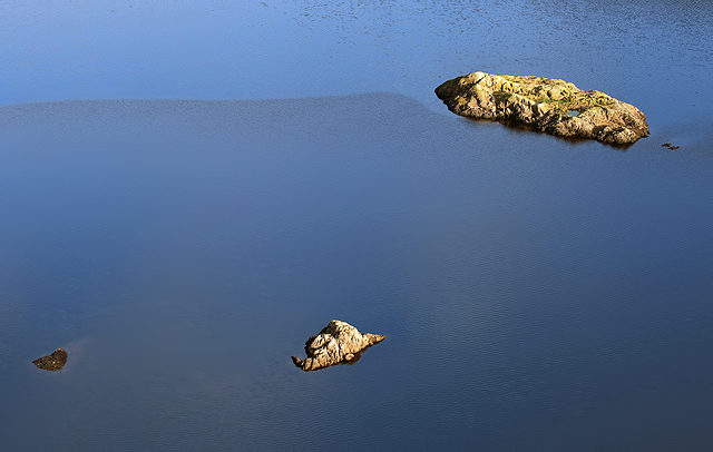 Small islands at Thirlmere Reservoir