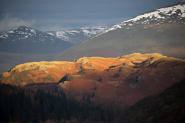 High Rigg in the Lake District
