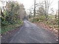 J1027 : Monks Hill Road by Eric Jones