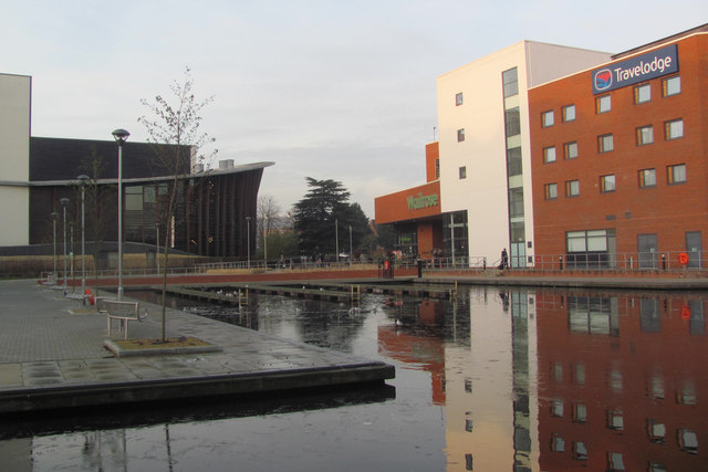 The Canal Basin at Aylesbury