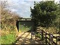 SX0046 : Heligan Estate: wildlife hide by Jonathan Hutchins