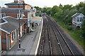 TQ9120 : Marshlink Line, Rye Station by N Chadwick