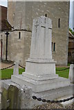 TQ5246 : War memorial, Church of St Luke by N Chadwick