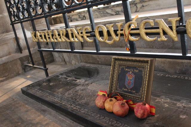 Grave of Queen Katherine of Aragon