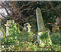 TQ3272 : Various monuments, West Norwood Cemetery (43) : Week 49