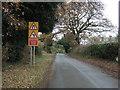 SJ5356 : Stone House Lane, Peckforton by JThomas