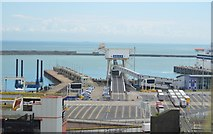 TR3341 : Dover Berth 7 by N Chadwick