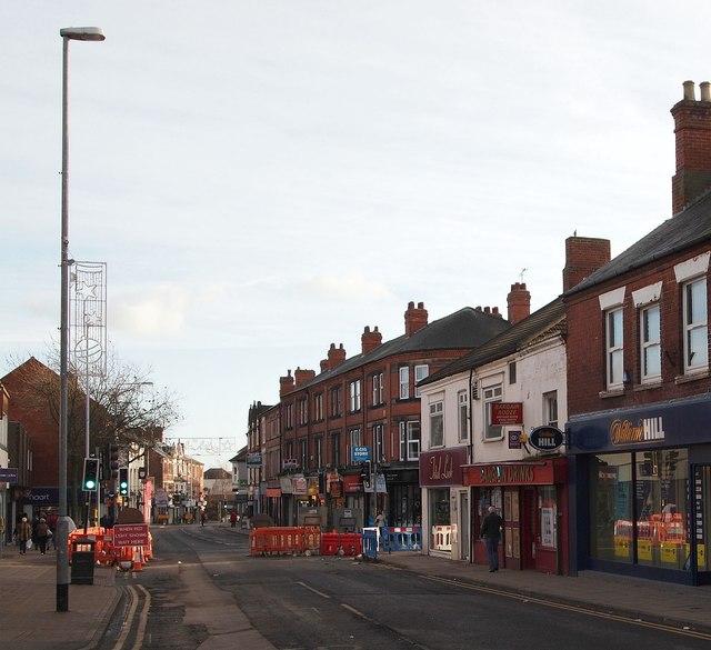 High St/Watnall Rd Junction, Hucknall, Notts.