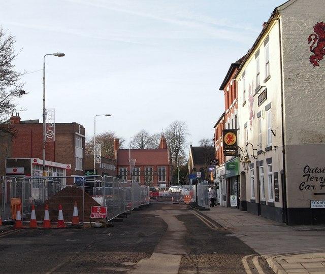 High Street, Hucknall, Notts.
