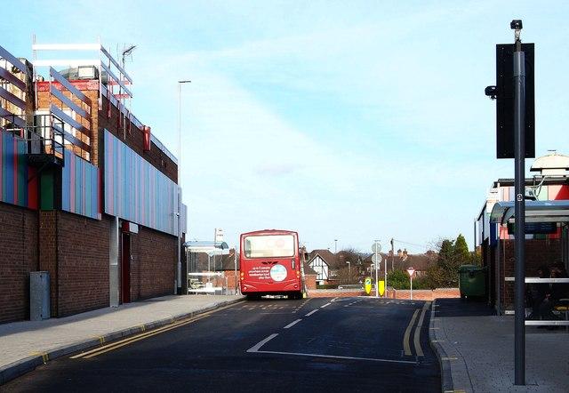 Bus Gate, High Street, Hucknall, Notts.
