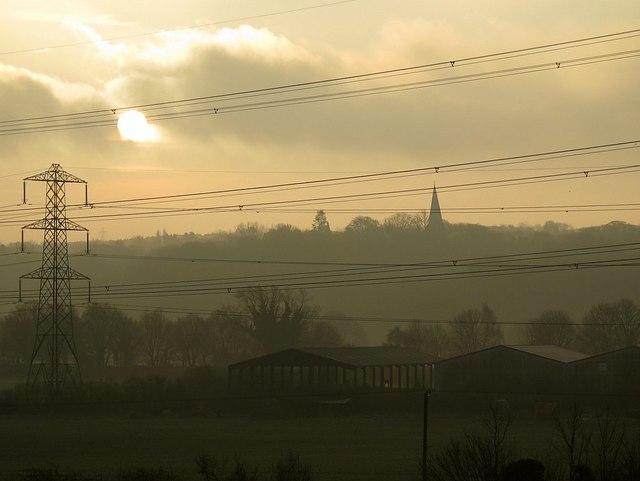 Heddon Haughs in morning light