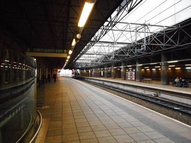 Platform 3 Manchester Victoria Station U00a9 Richard Sutcliffe  Geograph Britain And Ireland