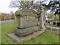 SJ8849 : Burslem Cemetery: the Price memorial by Jonathan Hutchins