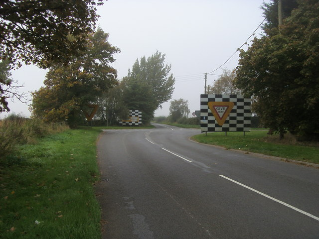 Crossroads with B4455
