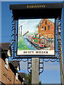 SJ5948 : The Dusty Miller in Wrenbury, Cheshire by Roger  Kidd