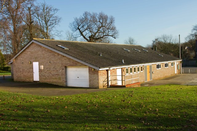 Rickinghall Village Hall, Suffolk