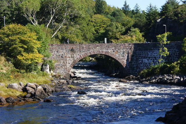 Bridge over the river Inver