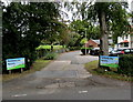 SJ6749 : Entrance to Parklands Day Nursery near Stapeley by Jaggery