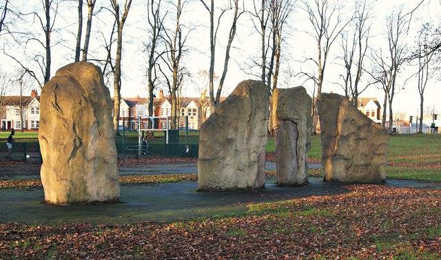 Victoria Park, St James' End, Northampton