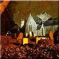 ST5976 : Horsfield Parish church at night : Week 52