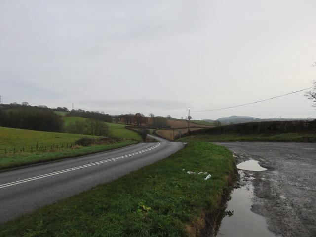 Lay-by on the A443 near Eardiston