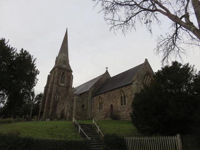 St Lawrence Church, Lindridge, Worcestershire
