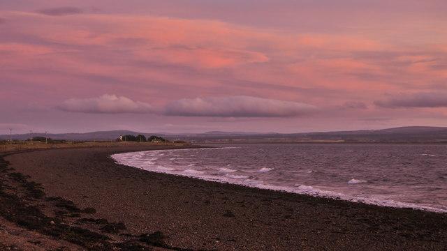 Fortrose Bay at dusk