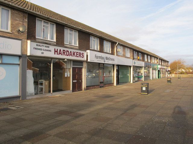 Shops in Harington Road, Formby