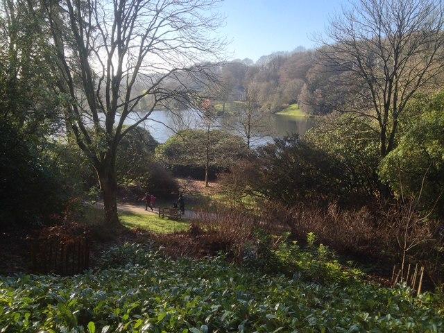 At Stourhead Gardens