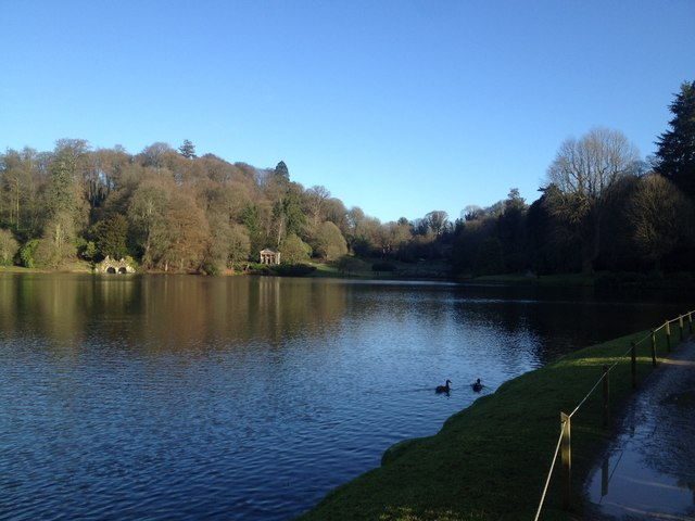 The Garden Lake at Stourhead gardens