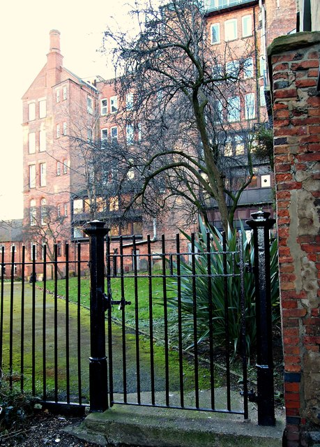 Barker Gate Rest Garden, Hockley, Nottingham 1