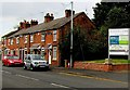 SJ6652 : Row of houses, London Road, Nantwich by Jaggery
