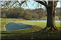 SE0753 : Former dam, Bolton Abbey by Derek Harper
