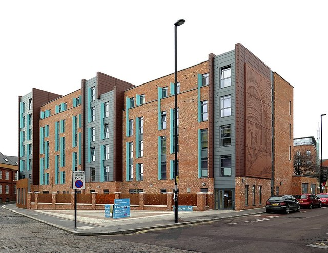 'Roman House' Student Accommodation, Clavering Place